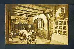 """Gasthaus """"Zur Traube"""" (alte Innenansicht)"""